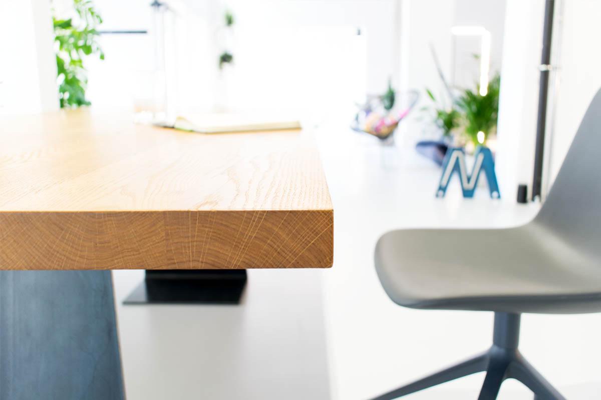 Tisch Holz Stahl. Moderner Tisch Holz Stahl Rechteckig Cuhl By ...