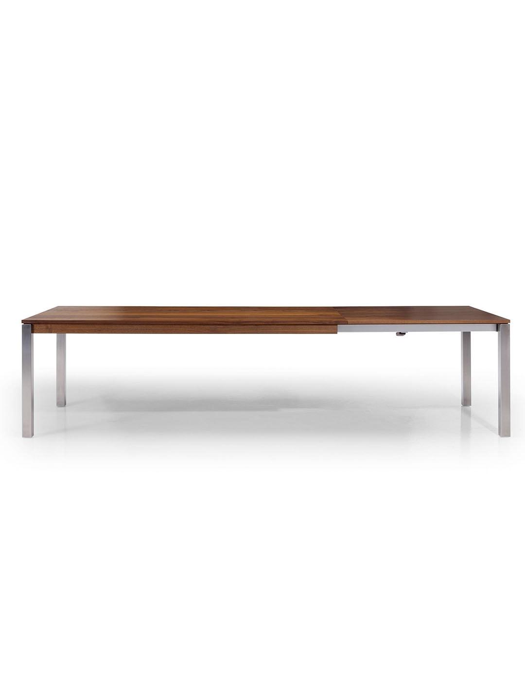 design massivholz esstisch mit auszug bankett ausziehtisch. Black Bedroom Furniture Sets. Home Design Ideas