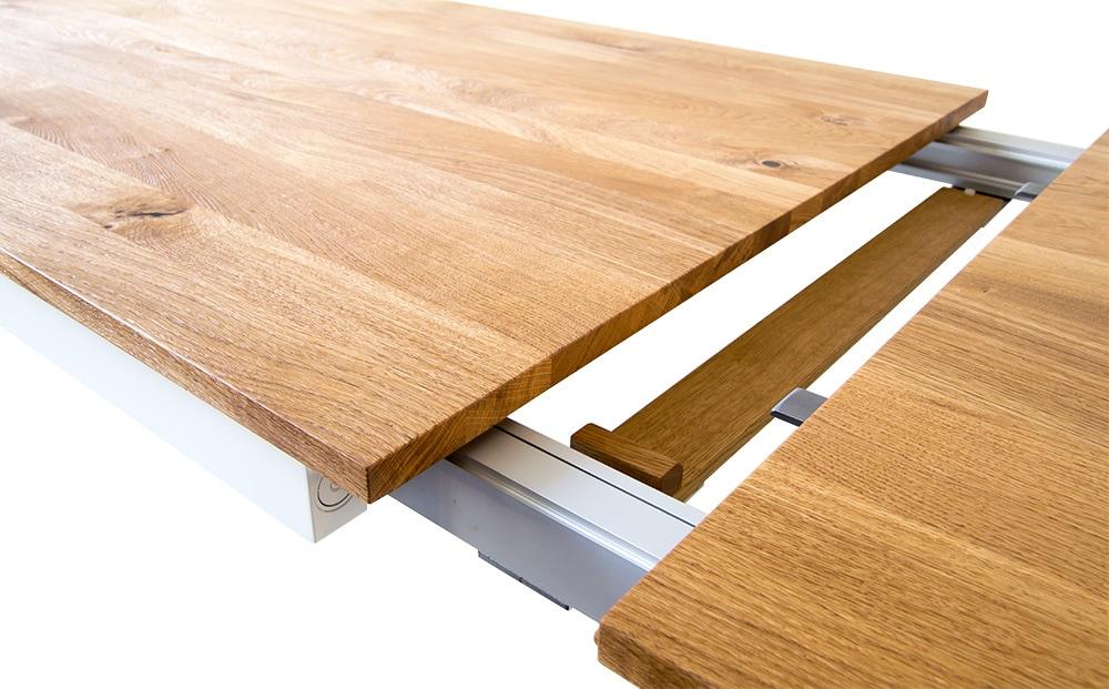 pantera massivholz ausziehtisch mbzwo esstische auf ma. Black Bedroom Furniture Sets. Home Design Ideas