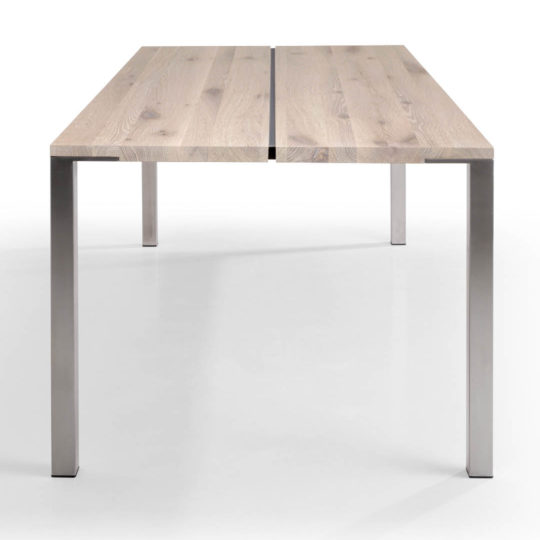 Tisch Cuda in Asteiche weiß geölt