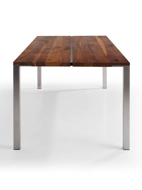 Tisch Cuda in Nussbaum Ast mit Splintanteil