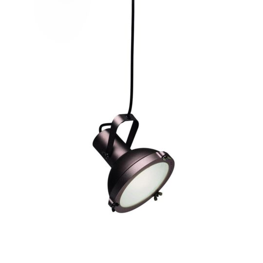 Design Leuchte Projecteur pendant in Moka.