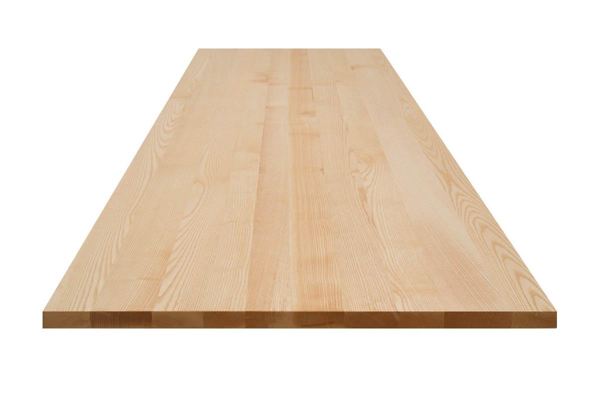 helle Premium Tischplatte in Esche