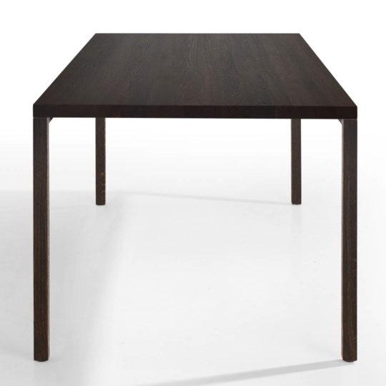 Tisch Layla in Eiche schwarz geräuchert