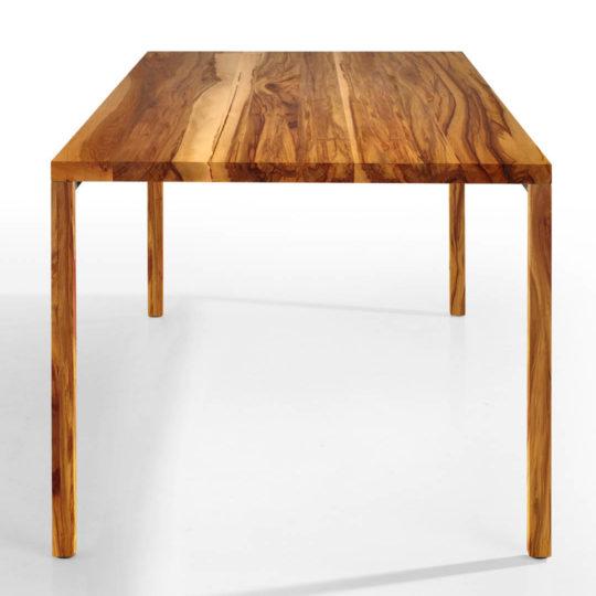 Tisch Layla in Nussbaum Satin