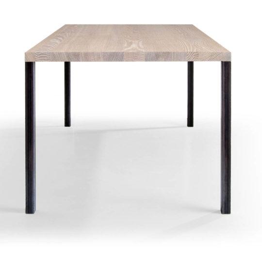 Tisch Lola in Eiche weiss geölt