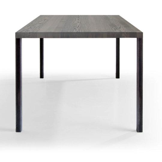 Tisch Lola in Esche grau