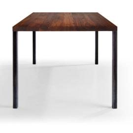 Tisch Lola in Nussbaum Ast