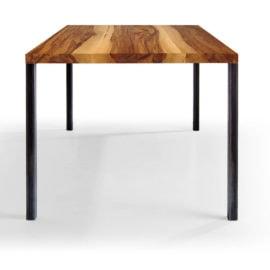 Tisch Lola in Nussbaum Satin