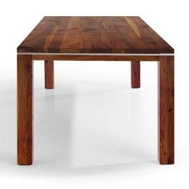 Tisch Range in Nussbaum Ast mit Splint