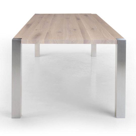 Tisch Syncro in Asteiche weiss geölt