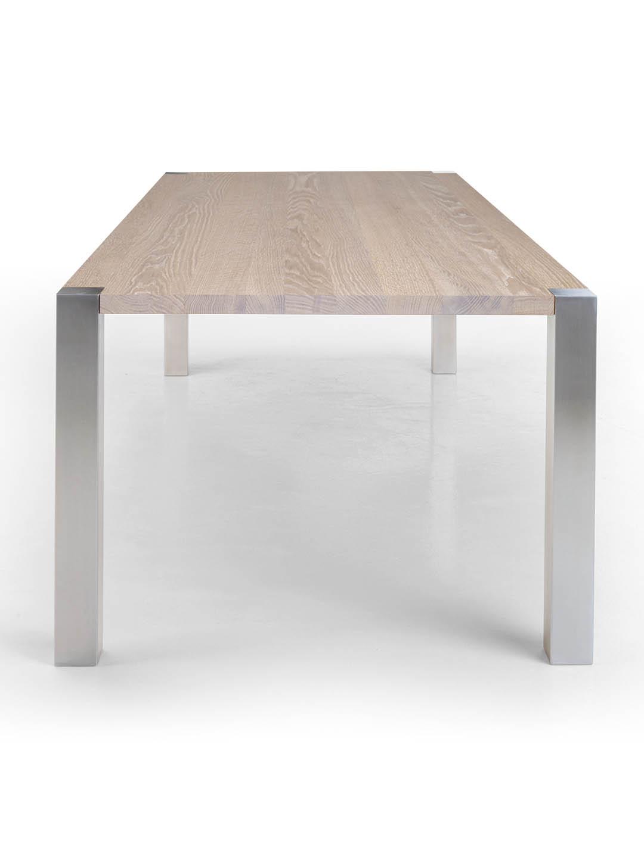 Tisch Syncro in Eiche weiss geölt