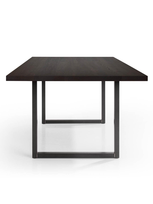 Tisch Tipo in Eiche schwarz geräuchert