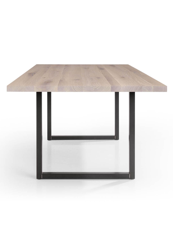 Tisch Tipo in Asteiche weiss geölt