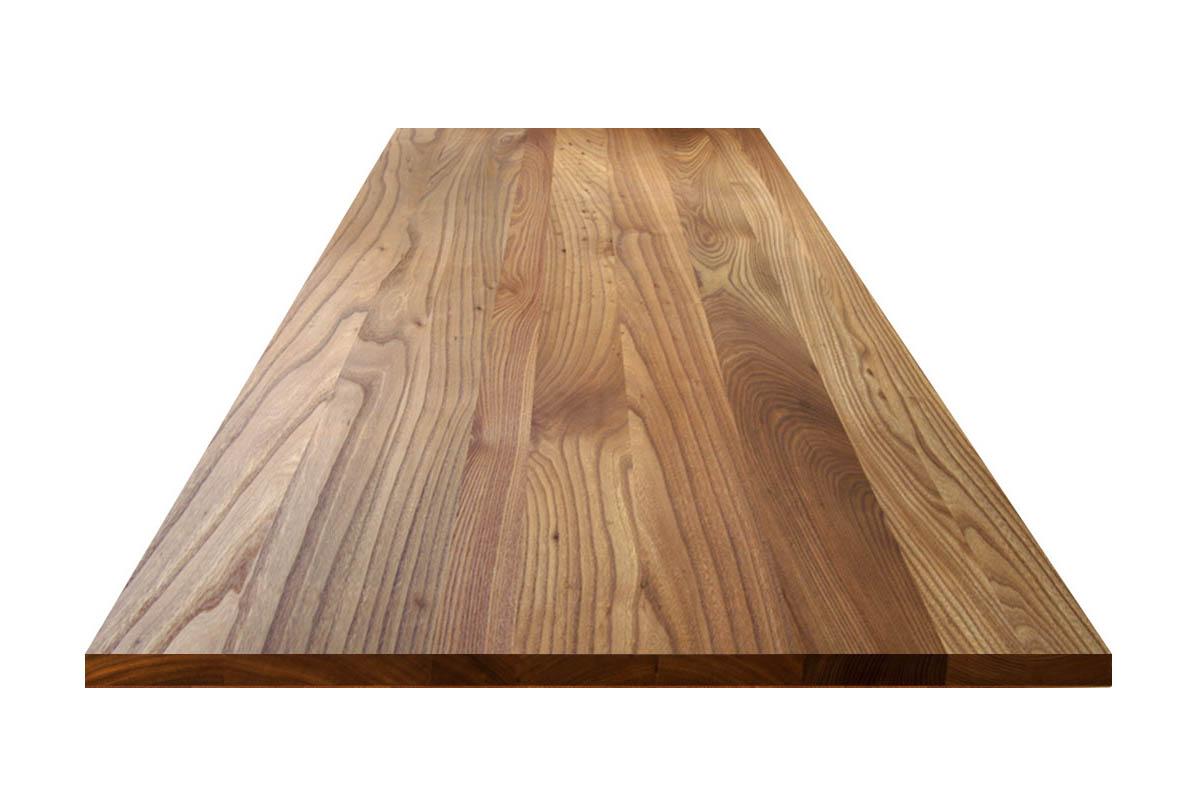 Ulme Tischplatte mit Astanteil
