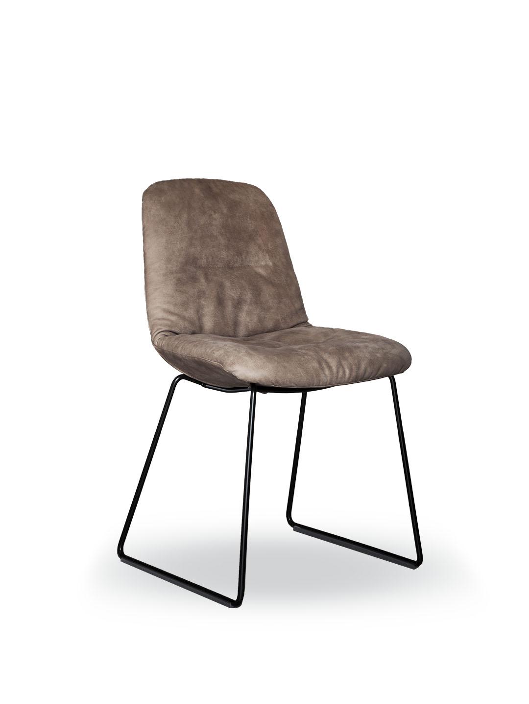 Tonon Step Chair, upholstered, Stuhl, Leder, mbzwo, tonon 9w4.93, tonon step 9w4.93, step chair, designer stuhl, gepolstert, leather