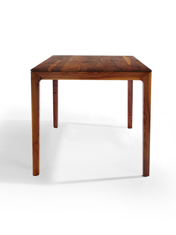 n blogg nussbaum ast mit splint esstische nach ma. Black Bedroom Furniture Sets. Home Design Ideas