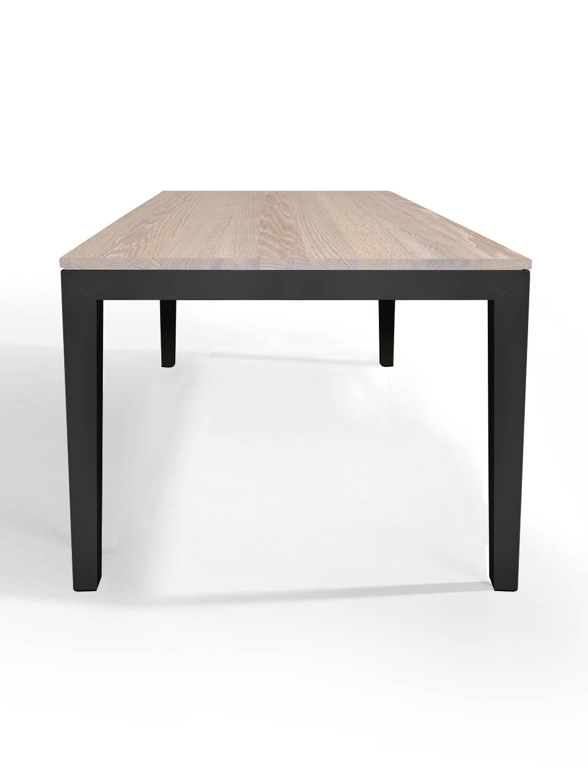 ausziehtisch pantera eiche wei ge lt tische esstische. Black Bedroom Furniture Sets. Home Design Ideas