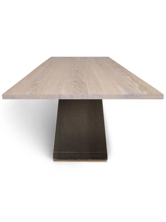 Tisch ZSteel in Eiche weiß geölt
