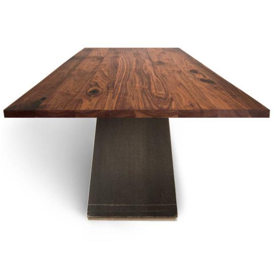 Tisch ZSteel in Nussbaum Ast