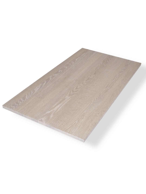 Tischplatte weiß matt  Tischplatte Eiche Premium weiß geölt | aus der Manufaktur by MBzwo