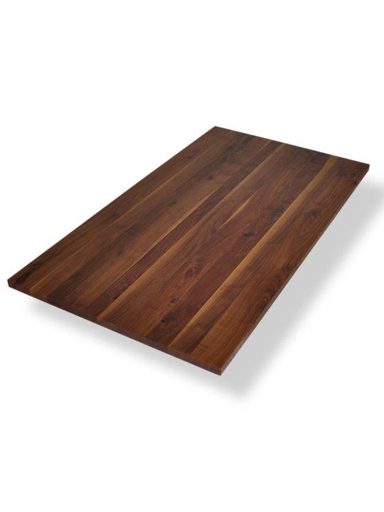 Tischplatte Nussbaum mit Ast- und Splintanteil