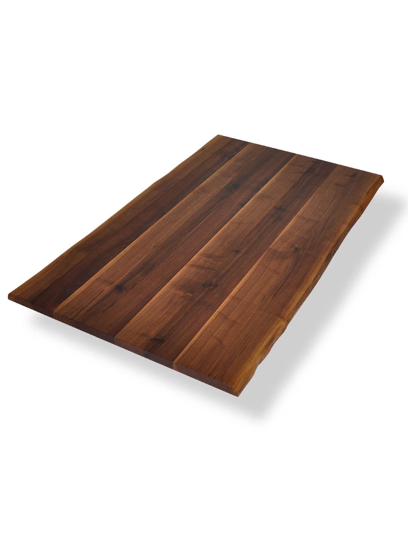 Tischplatte holz natur  Tischplatten | Nussbaum Ast m. Splint | Baumkante