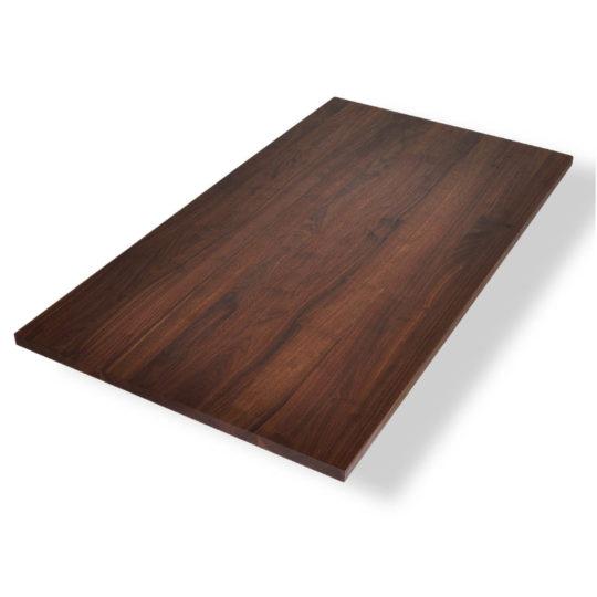 Nussbaum Tischplatte in Premium Qualität ohne Astanteil