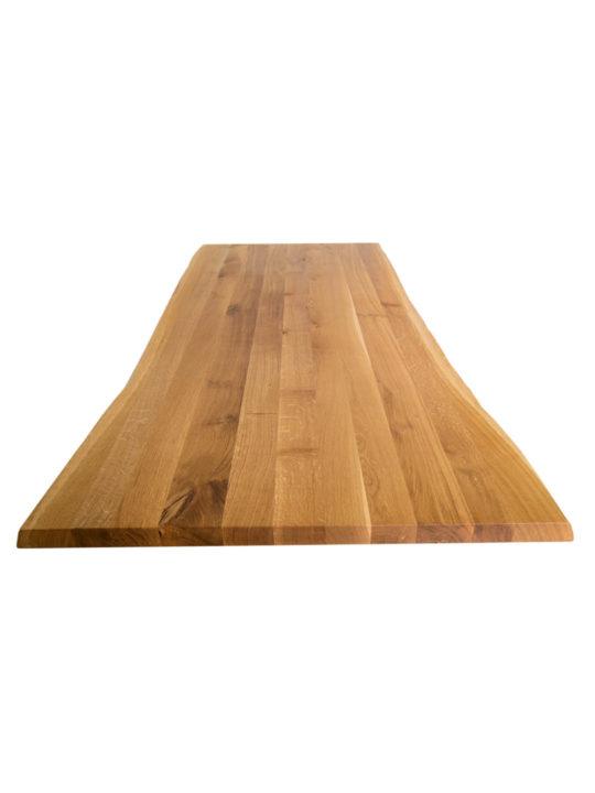 Eiche Tischplatte mit Baumkante von MBzwo