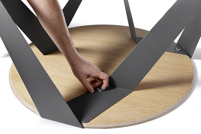 Tabanda Design Couchtisch, Designer Couchtisch Tabanda, MBzwo Design Couchtisch rund, MBzwo Tische nach Maß