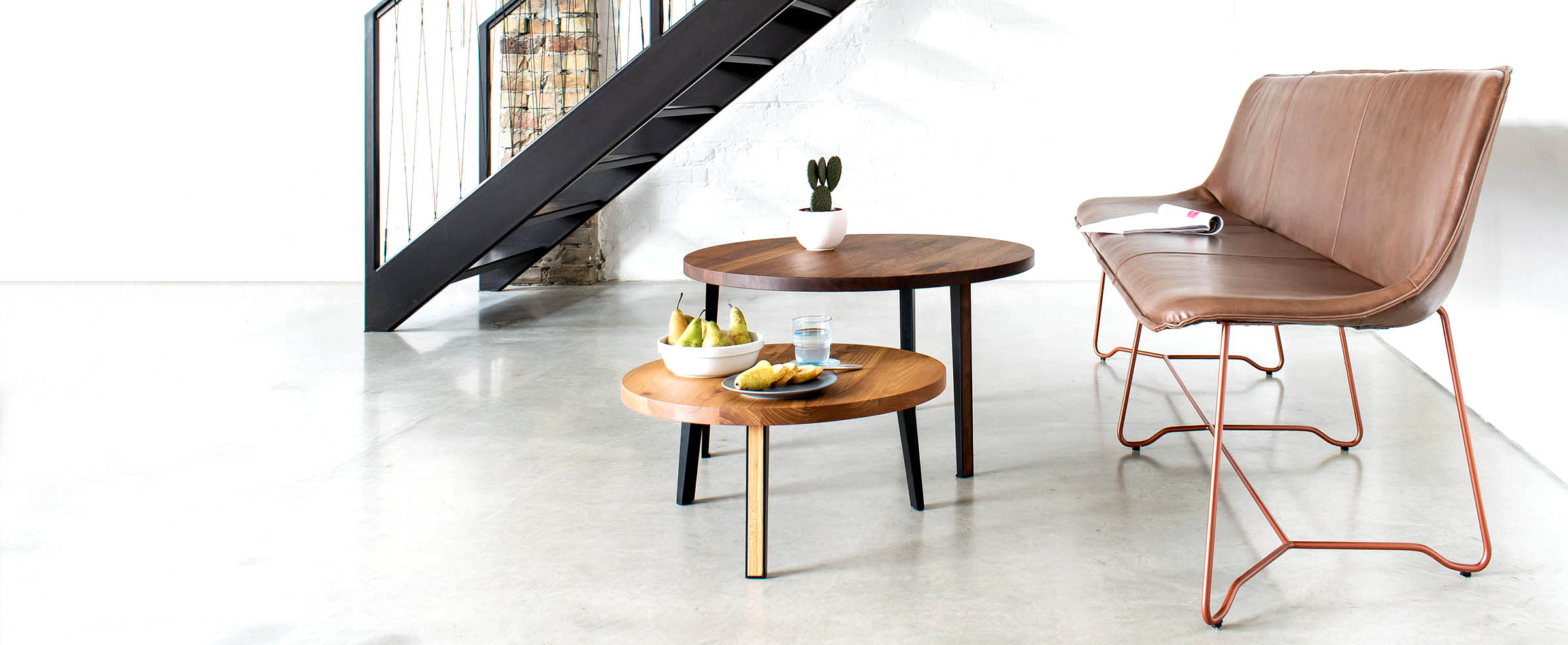 Design Lederbank Like von MBzwo