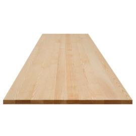 helle Esche Tischplatte ohne Astanteil
