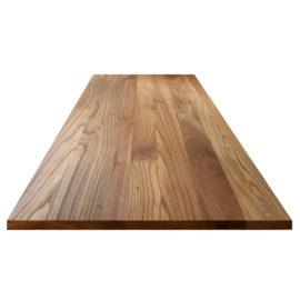 Ulme Tischplatte ohne Astanteil