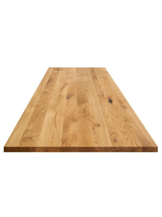 Eiche Tischplatte mit Astanteil
