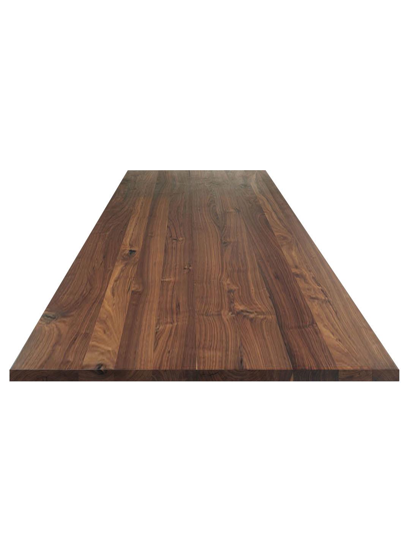 tischplatte nussbaum ast nach ma aus der manufaktur. Black Bedroom Furniture Sets. Home Design Ideas