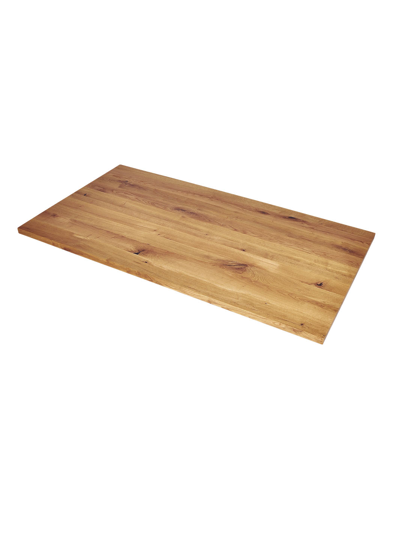 Massive Wildeiche Tischplatte nach Maß