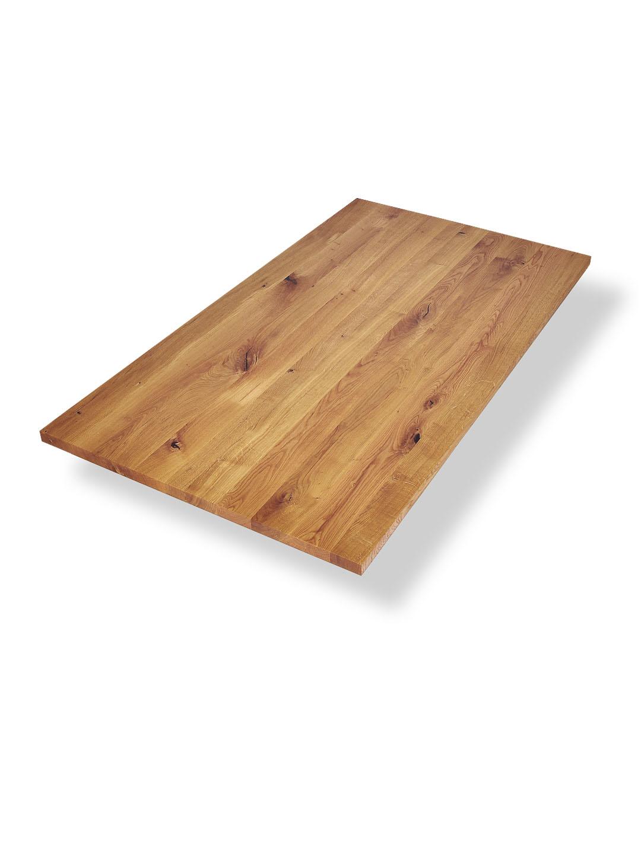 Tischplatte asteiche wildeiche nach ma aus der manufaktur for Designer tischplatten