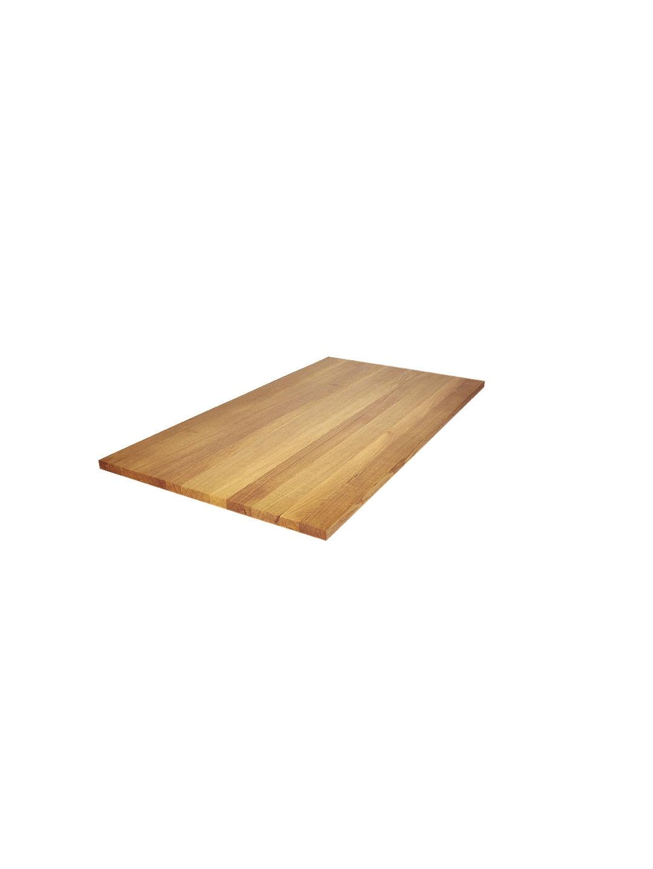 Massive Eiche Tischplatte in Premium Qualität