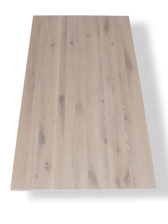tischplatte asteiche wei ge lt direkt aus der manufaktur by mbzwo. Black Bedroom Furniture Sets. Home Design Ideas