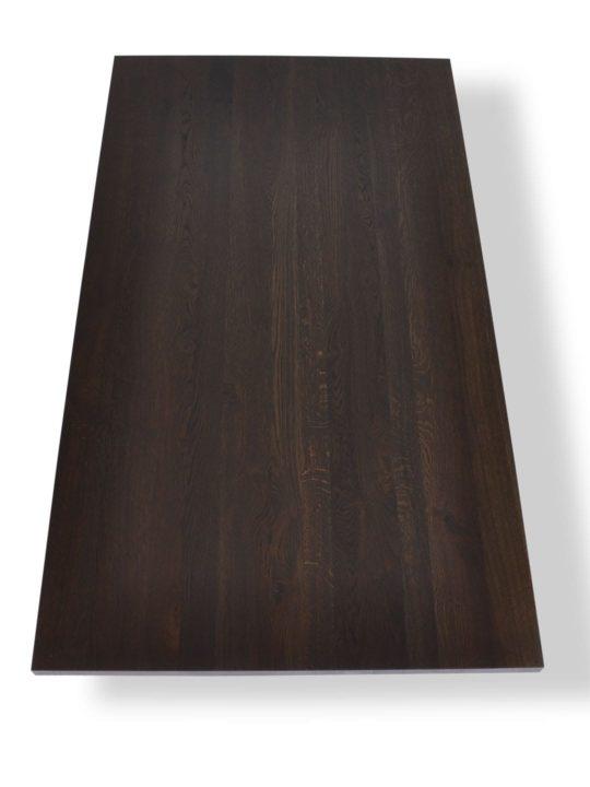 Geräucherte Eiche Tischplatte nach Mass