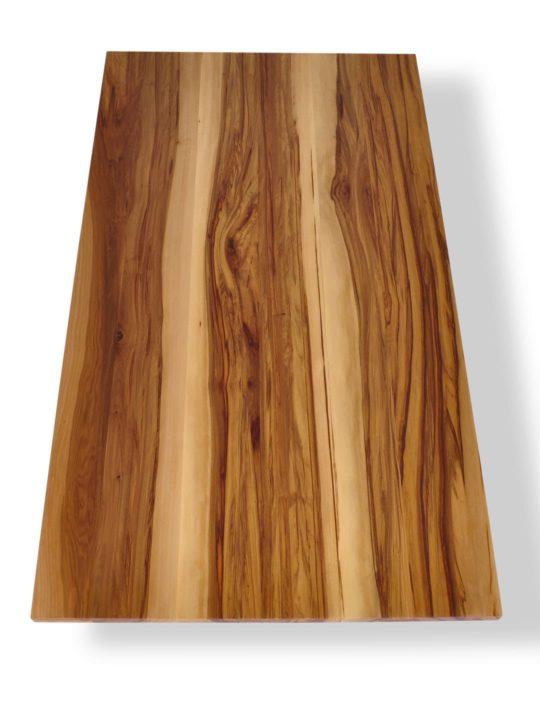 besondere Satin Nussbaum Tischplatte