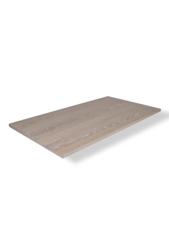 Tischplatte in Eiche Premium weiß geölt