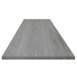 Esche Tischplatte grau geölt ohne Astanteil