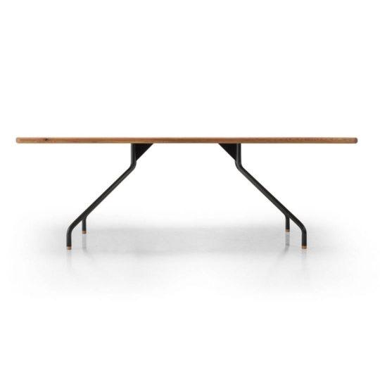 Designer Tisch Cone im Profil