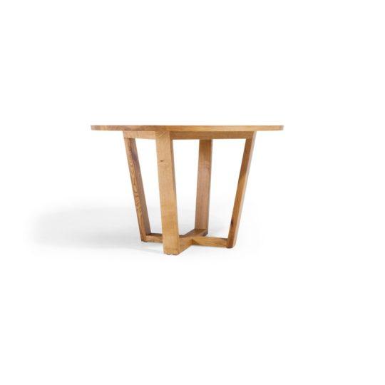 Runder Ausziehtisch nach Maß, Massivholz Ausziehtisch rund, runder Esstisch Massivholz, Nova MBzwo, runder Ausziehtisch Holz massiv