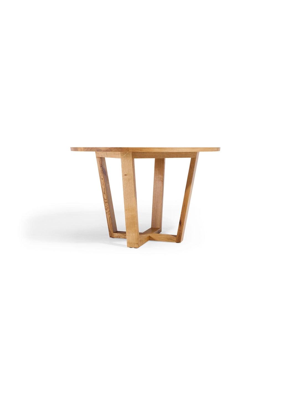 runder esstisch runder ausziehtisch massivholz ausziehtisch rund nova von mbzwo. Black Bedroom Furniture Sets. Home Design Ideas