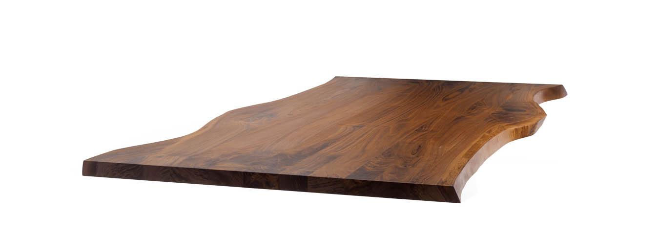 baumkanten tischplatte nach mass angebot mbzwo. Black Bedroom Furniture Sets. Home Design Ideas