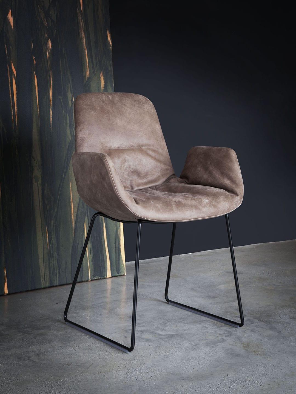 tonon step leder armchair designer stuhl mit armlehnen. Black Bedroom Furniture Sets. Home Design Ideas