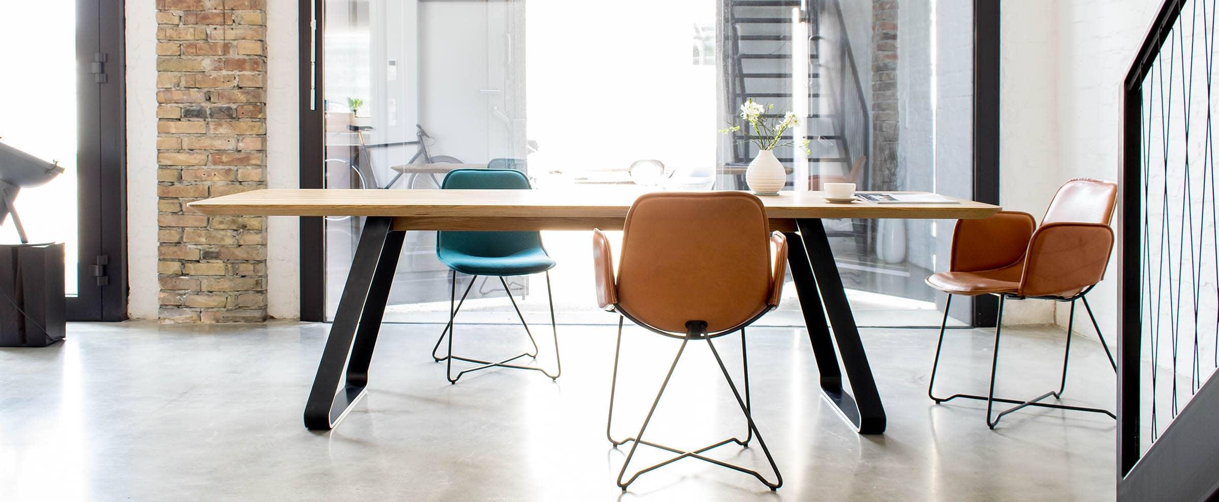 design esstisch nach maß, mbzwo, brutus, tisch nach maß