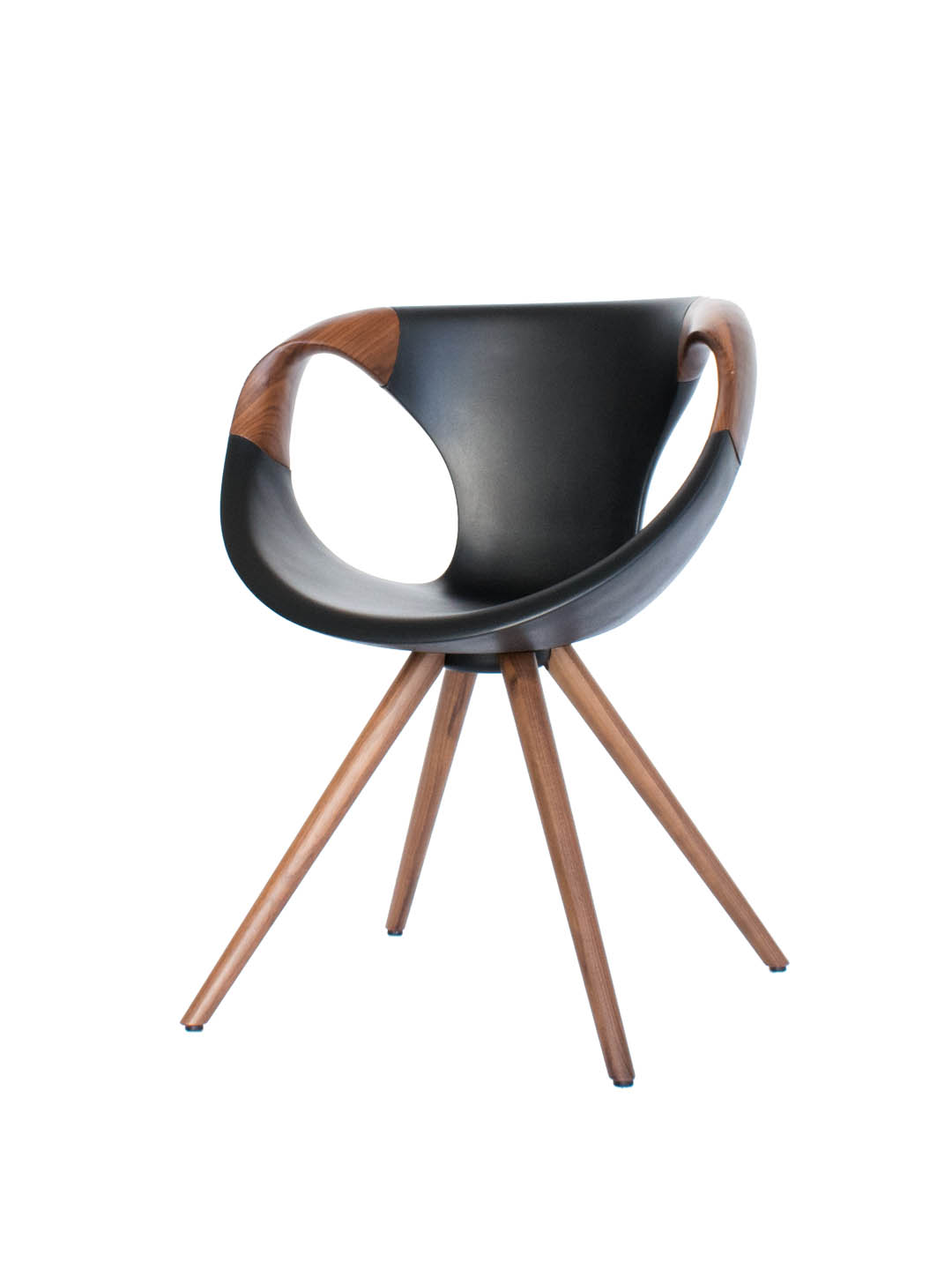 tonon up chair wood tonon designer stuhl nussbaum. Black Bedroom Furniture Sets. Home Design Ideas